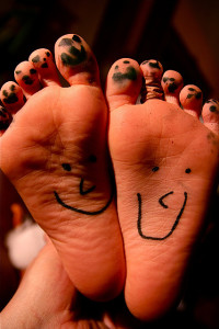 Happy smiley feet!